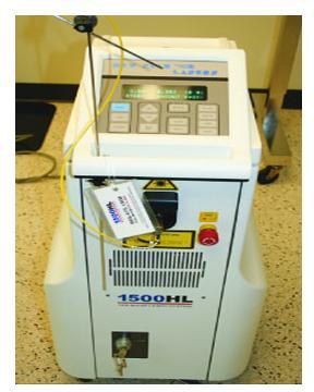 Holmium :YAG (Ho-YAG) Laser used for LDAs