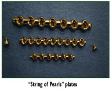 String of Pearls Plates